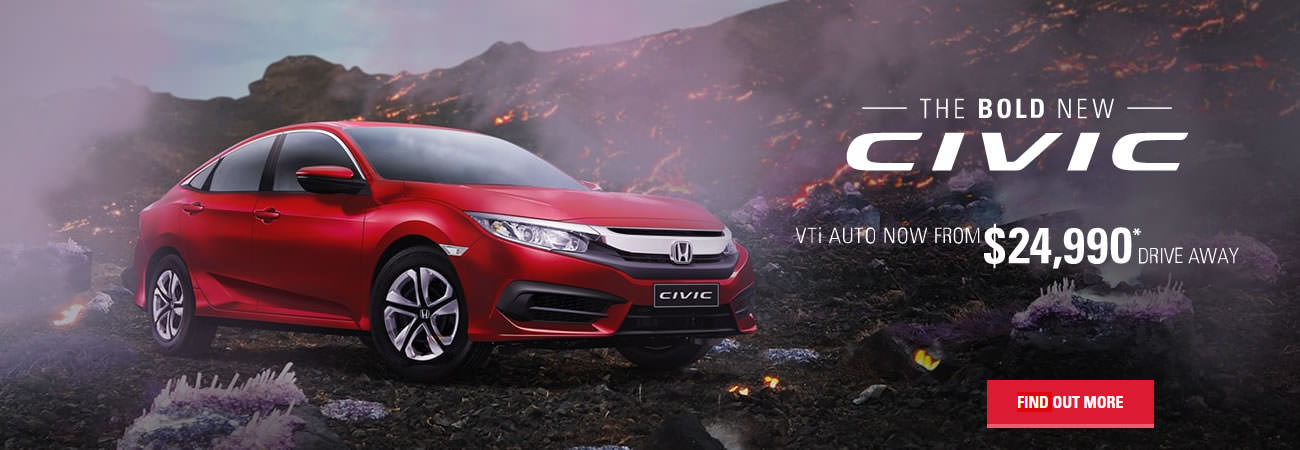 Honda - The Bold New Civic - Click Here